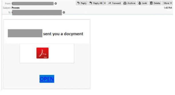 Adobe PDF scam