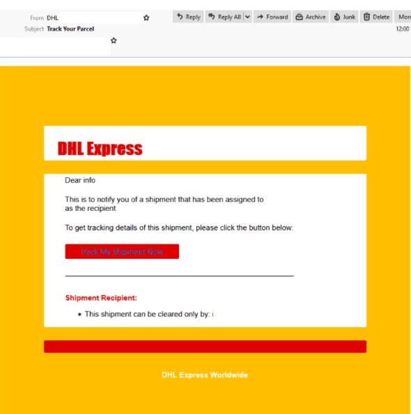 DHL scam