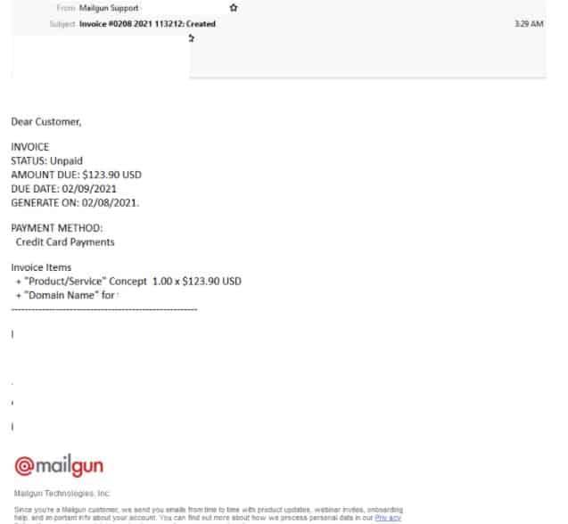 mail gun scam 21