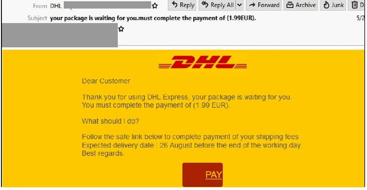 DHL Scam 2021